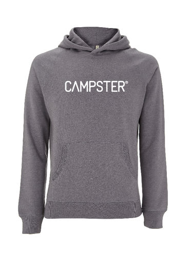 CAMPSTER RECYCLED WOMAN / MEN LOGO HOODIE
