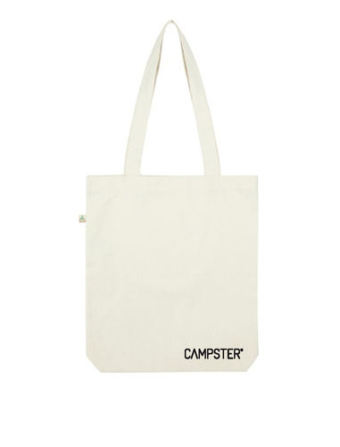 CAMPSTER RECYCELTE LOGO SHOPPING BAG