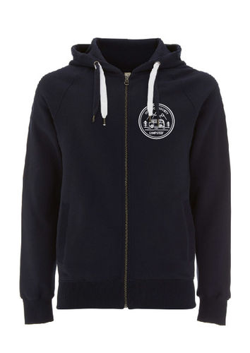 CAMPSTER WOMAN/ MEN VAN LIFE HOODED ZIP SWEATSHIRT